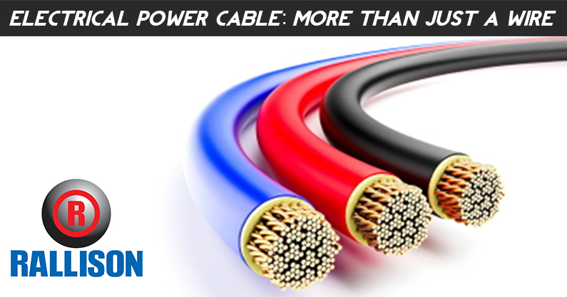 Electrical Power Cable: More than Just a Wire.