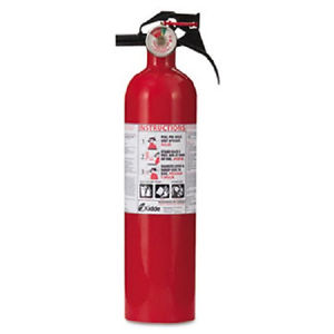 fire extinguisher:
