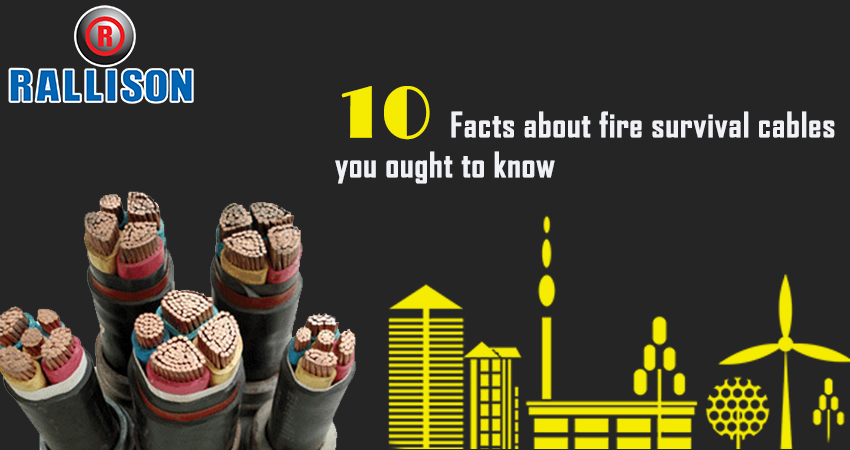 10 Facts about fire survival cables you ought to know