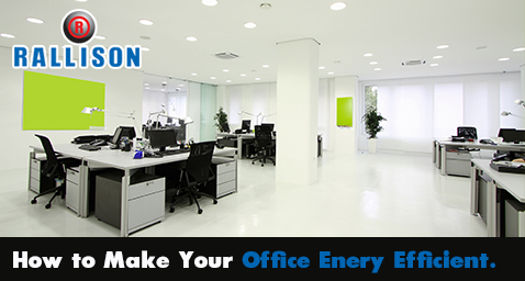 How to make your office energy efficient