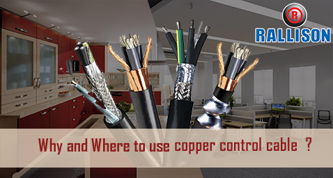Why and Where to use copper control cables ?